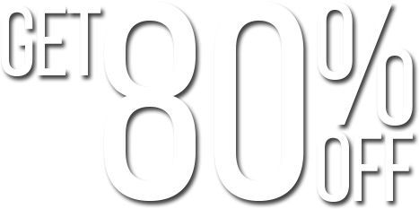 Get 80% off